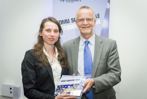 We are celebrating our amazing students who have transformed lives through DMU Square Mile. Today it's Malgorzata Persa, who set up a Tae Kwon Do club at Slater Primary School and won Student Project of the Year at this year's DMU Square Mile Awards.