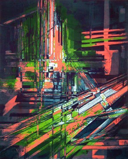 Struan Hamilton, Lebbeus Suite 1 Viscosity etching