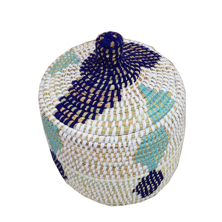 Woven Basket Pinterest : Eddy moroccan woven basket with lid bathrooms