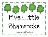 five little shamrock poem.  Very cute.: St. Patty, St. Patties, Crafts Ideas, Minis Books, Shamrock Books, Education Ideas, Holidays Ideas, St. Patrick'S Day, Classroom Ideas