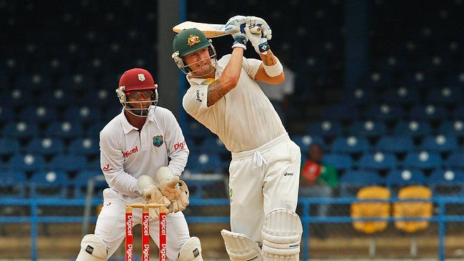 Calypso cool: Australia's captain Michael Clarke bats against the West Indies. Picture: Arnulfo Franco.    THE most exciting part of Australia's successful West Indian tour was Michael Clarke's vibrant and imaginative captaincy, which but for rain could have given Australia a 3-0 clean sweep.