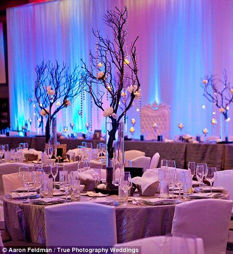 Lovely Wedding Table Decor  Lighting