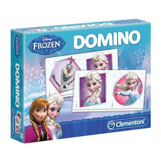 Frozen Domino. Leuk domino spel met 28 kaarten, met alle karakters uit de Disney film Frozen.
