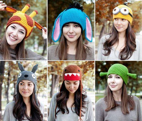 Funny hats ..