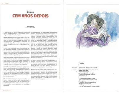 "Check out new work on my @Behance portfolio: ""Ilustração ""Fátima, cem anos depois"""" http://be.net/gallery/54410451/Ilustracao-Fatima-cem-anos-depois"