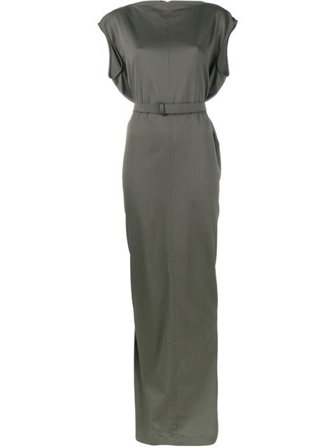 Shop Rick Owens Long Belted Dress in Browns from the world's best independent boutiques at farfetch.com. Shop 300 boutiques at one address.