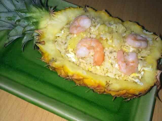パイナップル海鮮チャーハンの画像