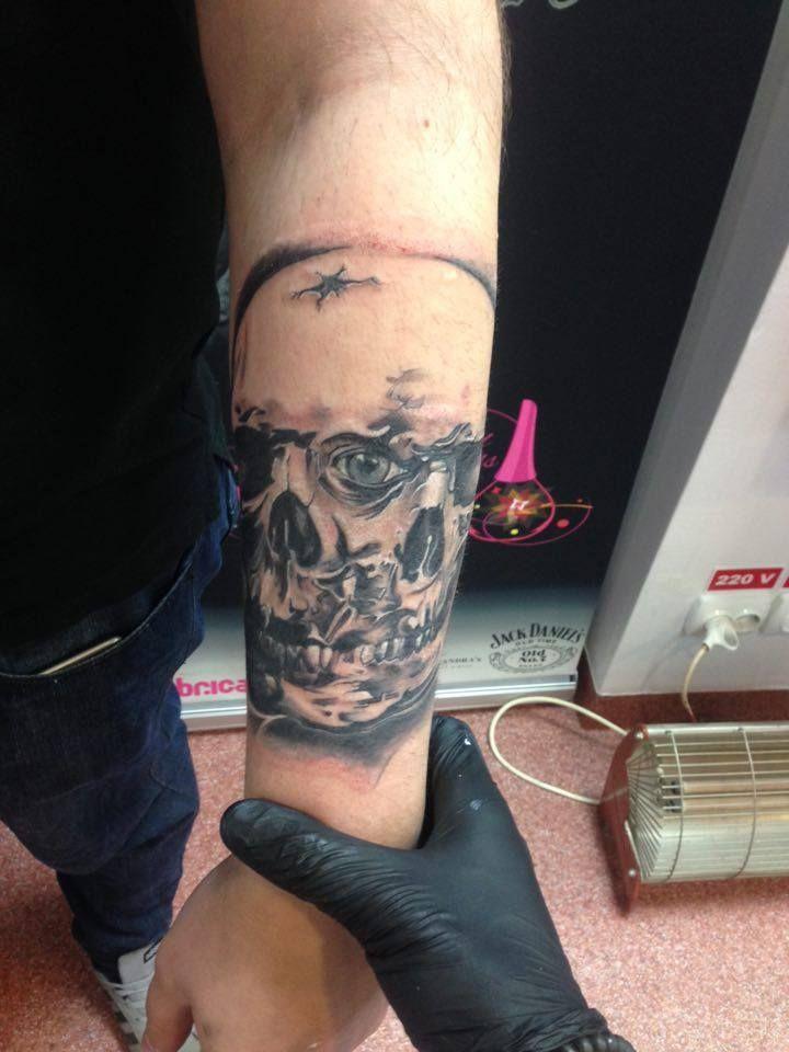 2 skulls tattoo part 2 by https://www.facebook.com/cornea.catalin