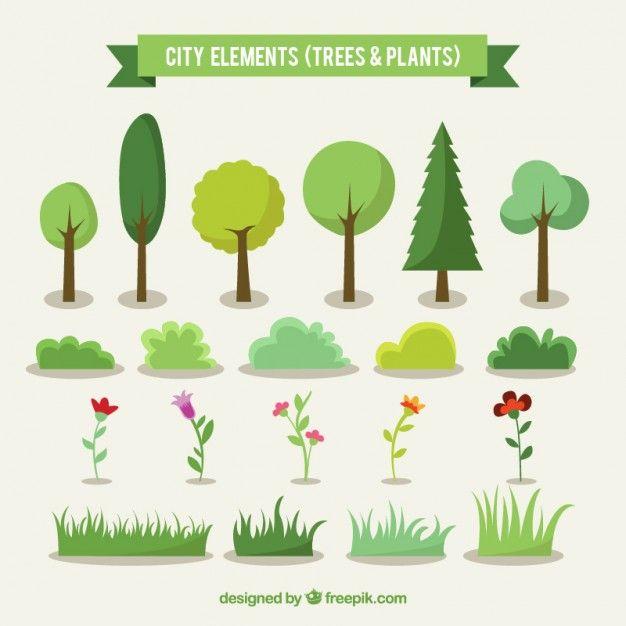 city-trees-and-plants_23-2147522552.jpg (626×626)