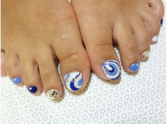 94 best toe nail art images on pinterest belle nails pedicure stylish pedicure nail art designs for summer 2012 nail styles and nail polish prinsesfo Images