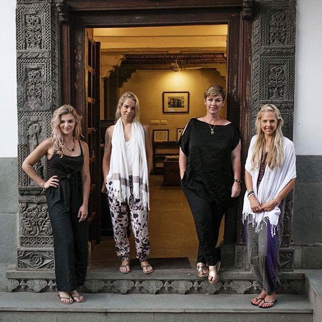 Me and my beautiful peahens @thepaintedpeacockprojectnz hanging in India. We created our own awesome adventure and forged some incredible experiences and art and jewellery. We laughed, we cried and it wasn't a walk in the park the whole time but we can't wait till stage 2 & 3. We're as curious as you are about what will emerge from this at our exhibition in December but stay tuned for the continuation of our exciting creative journey ♥️♥️♥️♥️ . . . #collaboration #friends #travel #India…
