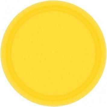 Dinner Plates, Daffodil Yellow