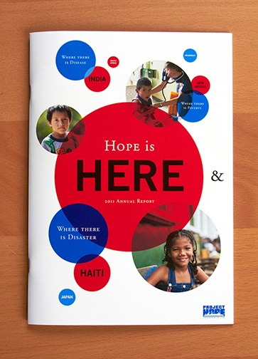 Cover for the Project HOPE 2011 Annual Report.
