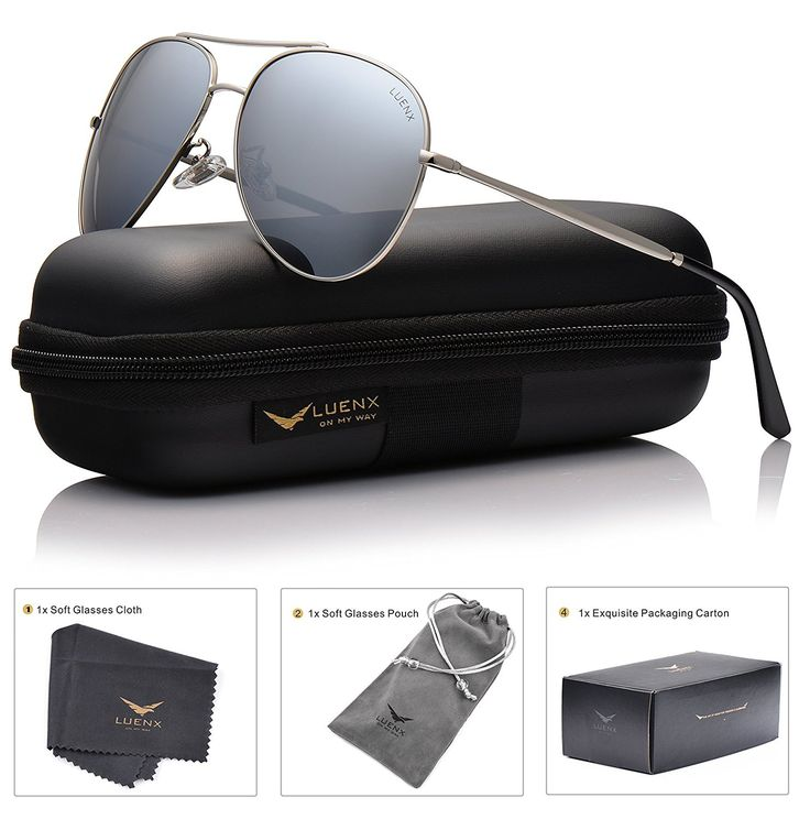 Come check out our new item: LUENX Aviator Sun...! It wont last long at this price! So click -> http://www.tribbledistributionss.com/products/luenx-aviator-sunglasses-polarized-for-men-women-with-case-400-uv-mirrored-lens-58mm?utm_campaign=social_autopilot&utm_source=pin&utm_medium=pin before they are gone!!