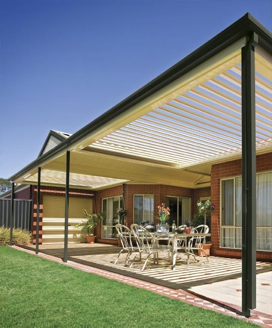 Stratco Outback Sunroof Awnings Carports Pergolas