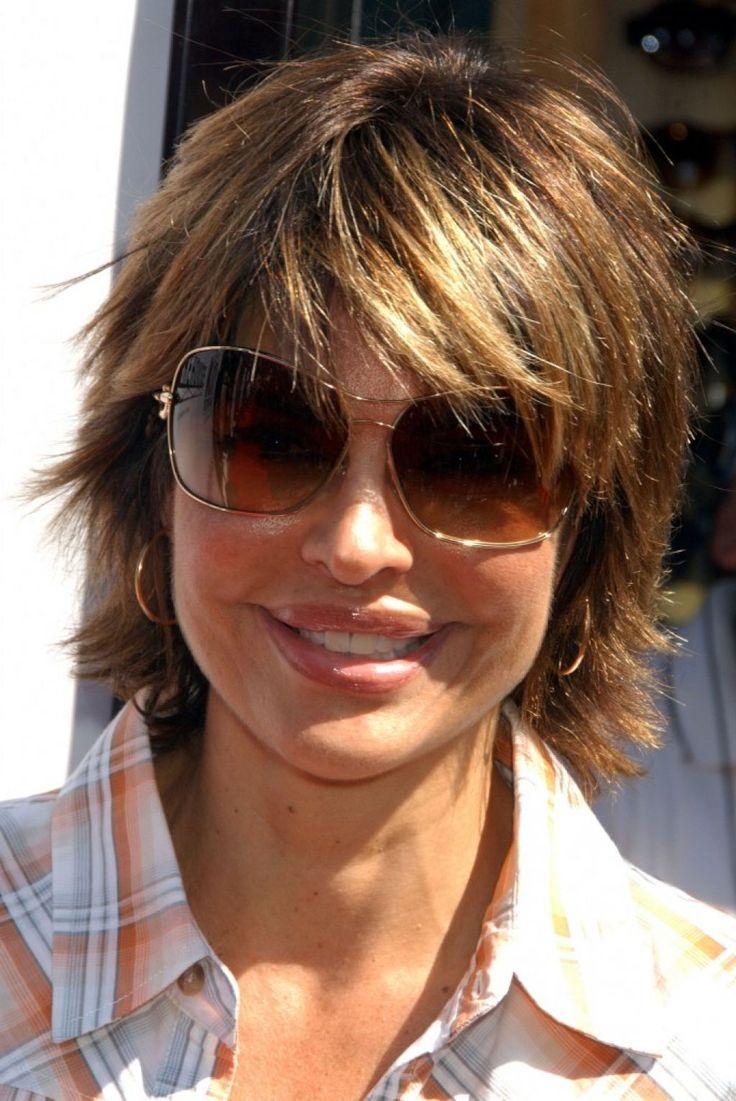 Short Haircuts For Women Over 50 With Glasses Image Fine