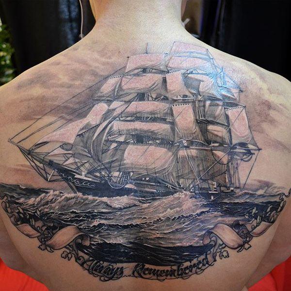 40 Boat Tattoo Designs | Cuded