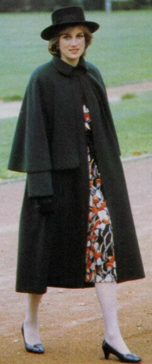 November 12, 1981: Princess Diana & Prince Charles visit York and Chesterfield; Diana's pregnancy was announced a week ago, looking pale and tired.
