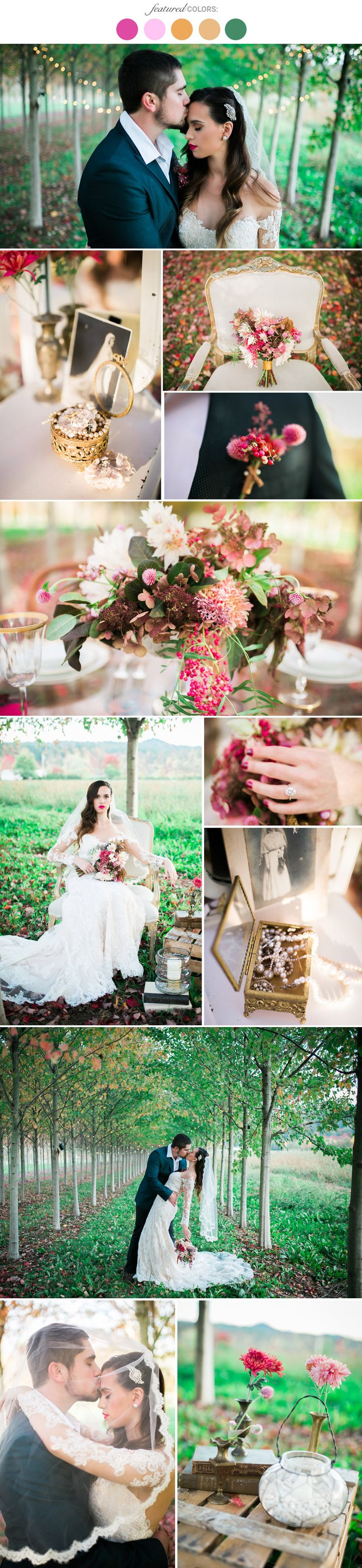 81 best wedding color combinations images on pinterest for Best wedding color combinations