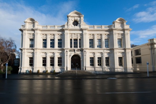Front facade day time - Oamaru Opera House, Williams Ross Architects
