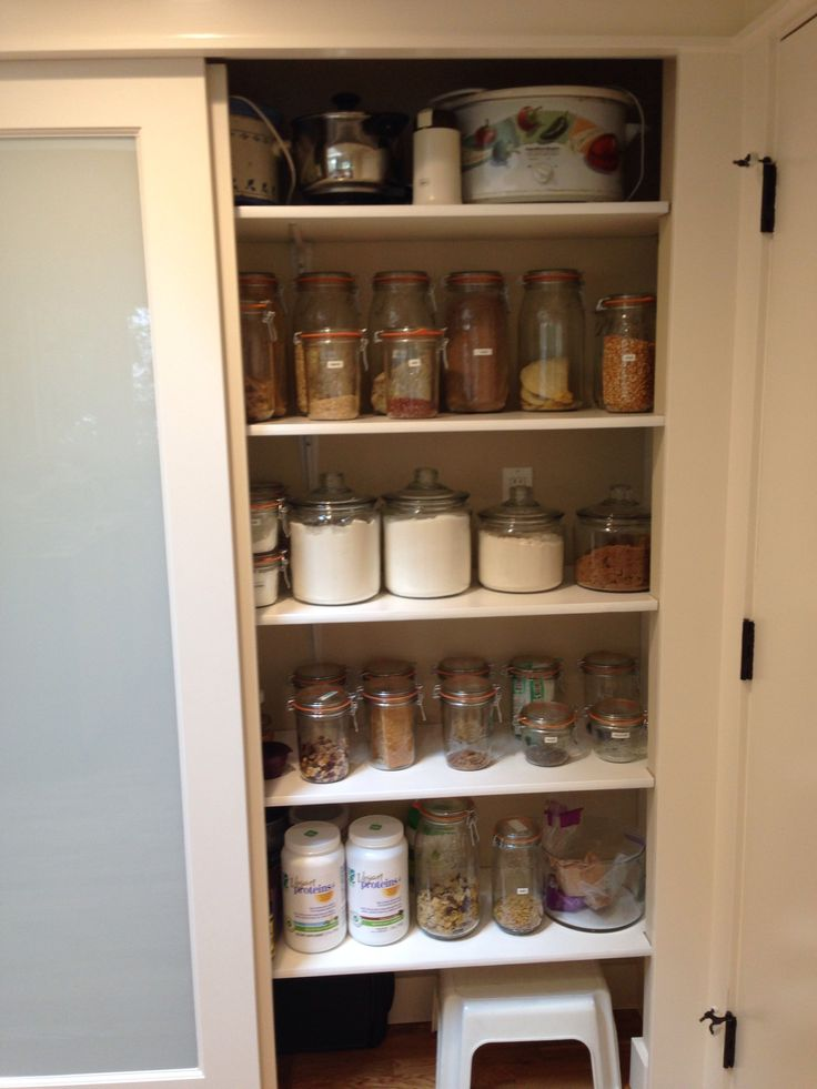 zero waste pantry modeled after bea johnson 39 s author of zero waste home we bring very little. Black Bedroom Furniture Sets. Home Design Ideas