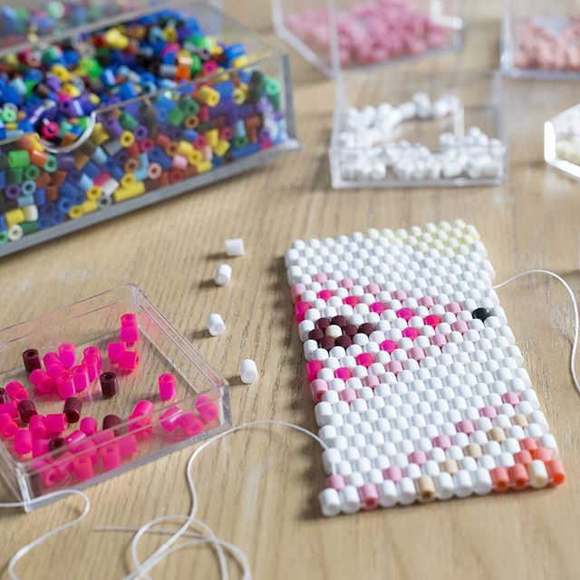 DIY Flowerpot cover hama beads by La petite épicerie - Video tutorial and pattern