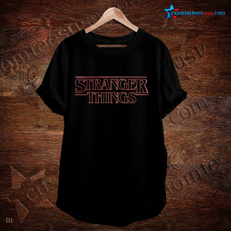 Stranger Things Quote T-Shirt   Get Tees @ customteesusa.com/product-category/quote-tshirts/
