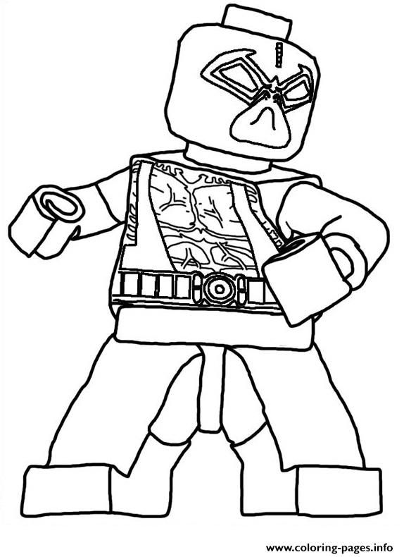 Coloring Deadpool Lego Pages 2020 Superhero Coloring