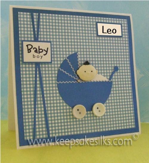 Baby Card - Boy