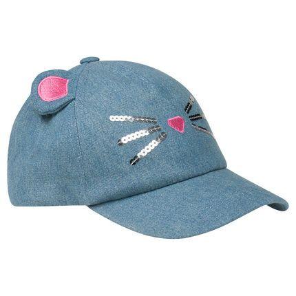 Καπέλο τζόκεϊ με αυτάκια γάτας  Main