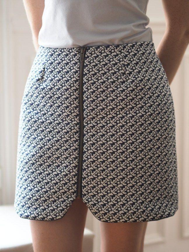 Couture : la jupe sister mini de Vanessa Pouzet