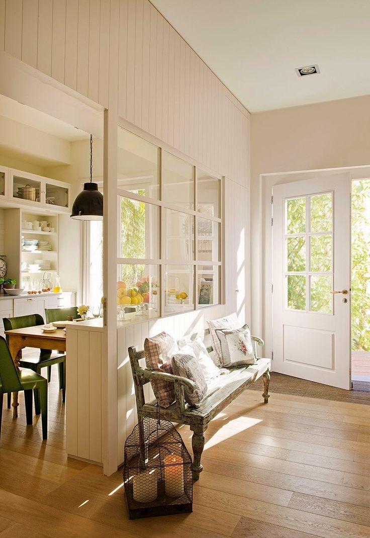White and green contemporary family home   Daily Dream Decor