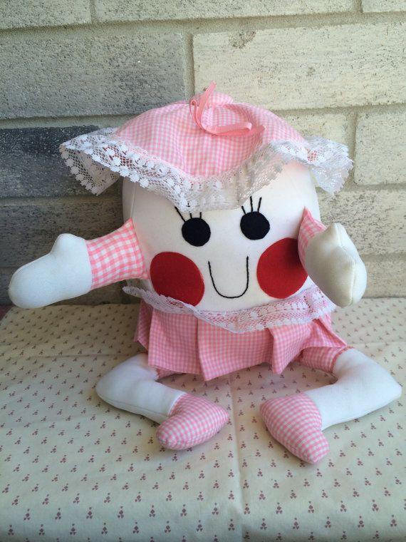 Ручной Шалтай-Болтай, Шалтай-Болтай, тряпичные куклы, самодельные куклы