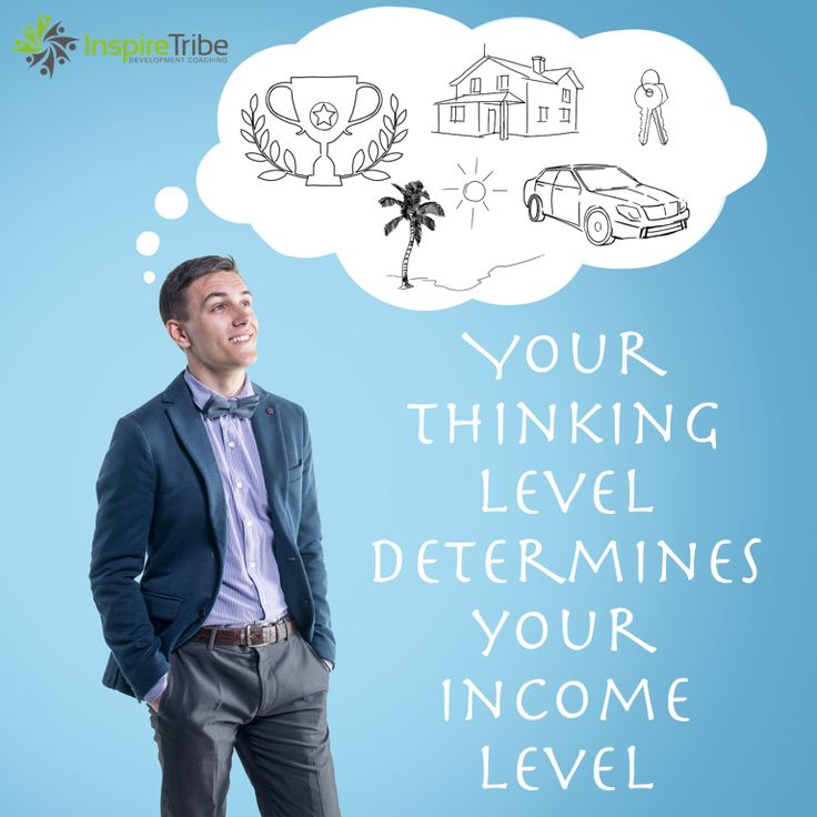 Discover how your thinking level determines your income level. #mindset http://www.youversion2.com/nikkseagren