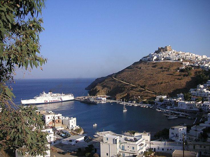 * Ilha de Astipalea * Grécia. Mede 18Km de comprimento por  13Km de largura.