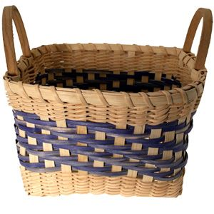 Click here. Learn to weave a Peach Basket in any color! $19.85 includes Basket Kit everything you need including fully illustrated, step by step basket weaving instructions.