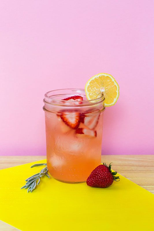 The Garden Party: Made with lavender, rosemary, and lemon infused vodka