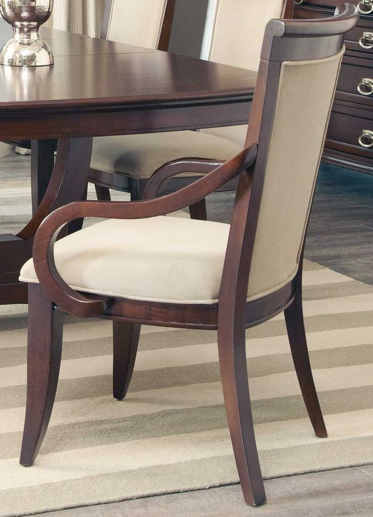 Coaster Alyssa Dining Arm Chair With Upholstered Seat Back