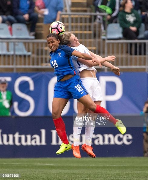 03-02 CHESTER, PA - MARCH 01: Marie-Laure Delie #18 of France... #kambosgr2: 03-02 CHESTER, PA - MARCH 01: Marie-Laure Delie… #kambosgr2