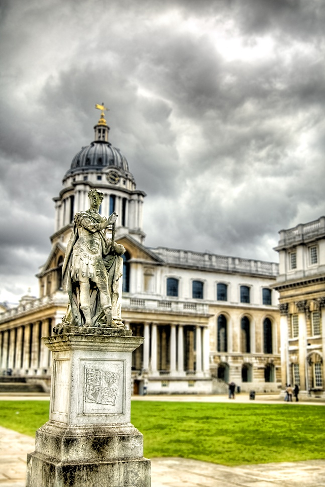 Old Royal Naval College, Greenwich, London... tap for history... and follow links to fab boards of London sites