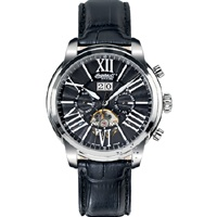 INGERSOLL NASHVILLE Automatic Black Leather Strap