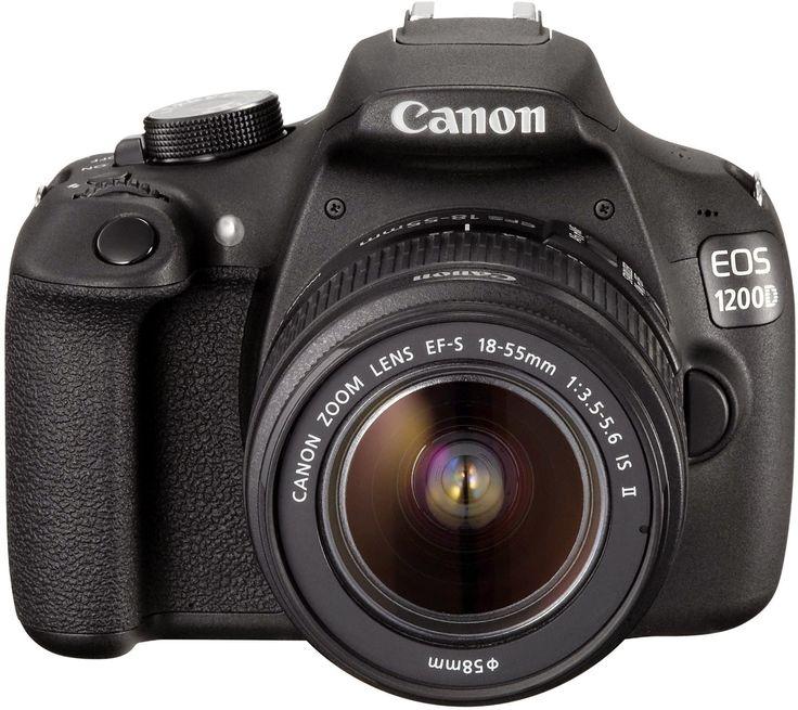 Canon EOS 1200D Fotocamera Reflex Digitale 18 Megapixel con Obiettivo EF-S 18-55mm IS II Prezzo consigliato:EUR 542,27 Prezzo:EUR 317,18  Risparmi:EUR 225,09 (42%) Tutti i prezzi includono l'IVA. Disponibilità immediata.