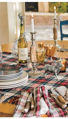 Tartan Holiday Entertaining Collection (Brave)