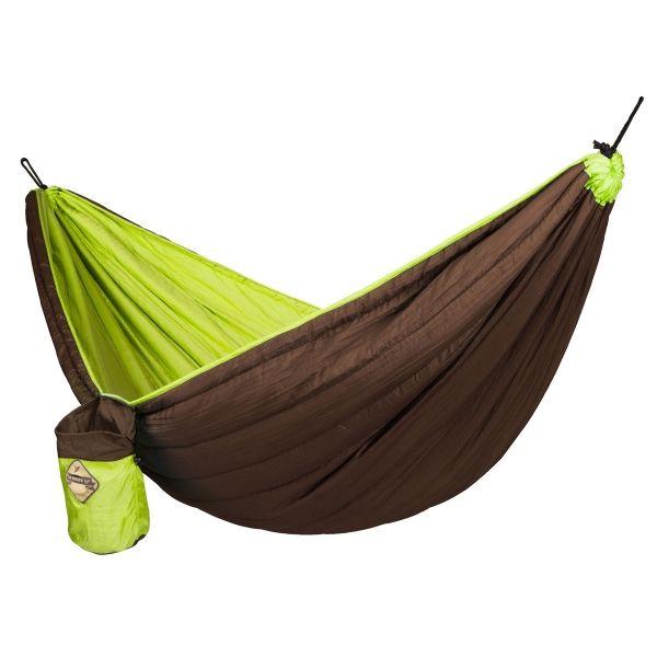LA SIESTA Colibri single polstret rejsehængekøje - Grøn