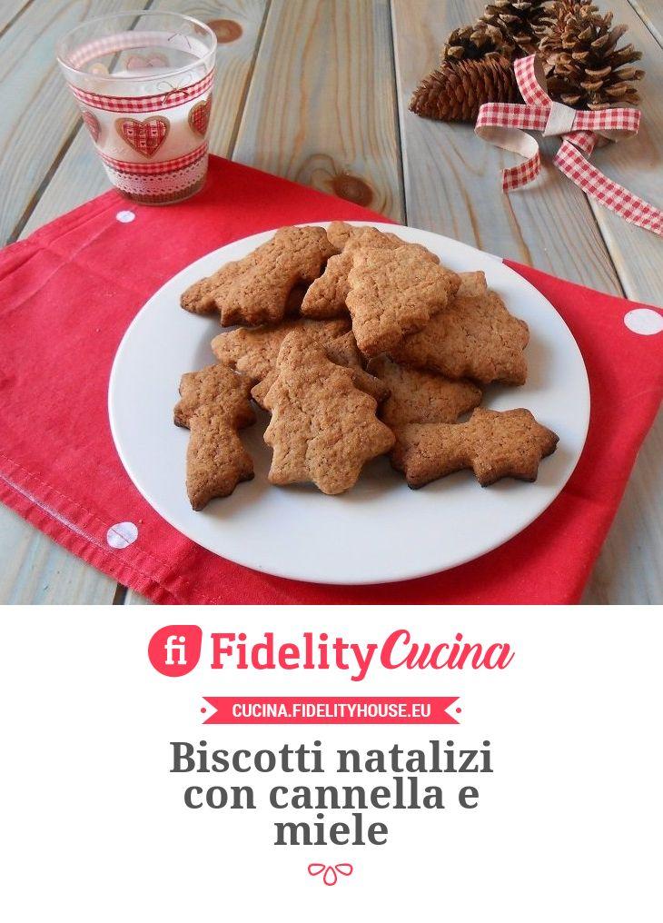Biscotti natalizi con cannella e miele