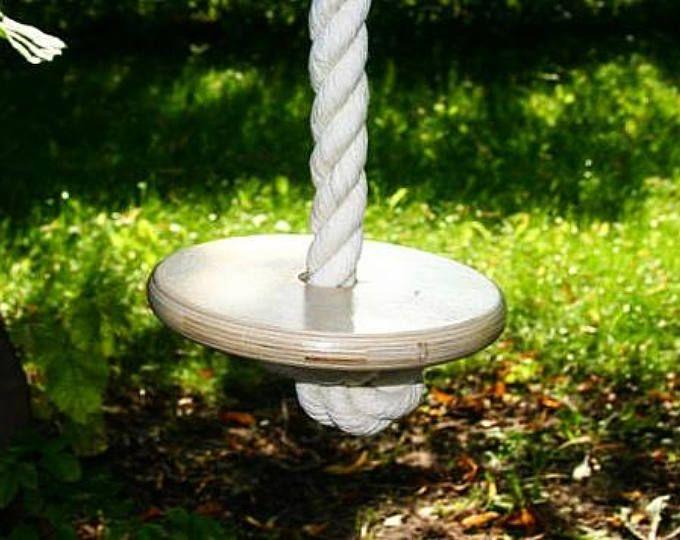 Tree Swing Handmade Pine Tree Swing Disc Swing Round Swing Rope Swing Natural Climbing Rope Swing Kids Swing Summer Toy Swings Tree Swing Kids Swing Summer Toys
