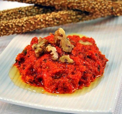 Πικάντικο Ντιπ με Πιπεριές Φλωρίνης