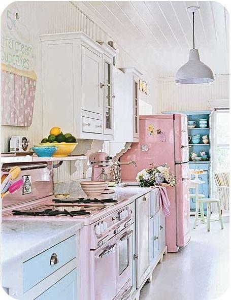 Pastel Kitchen! Beautiful!