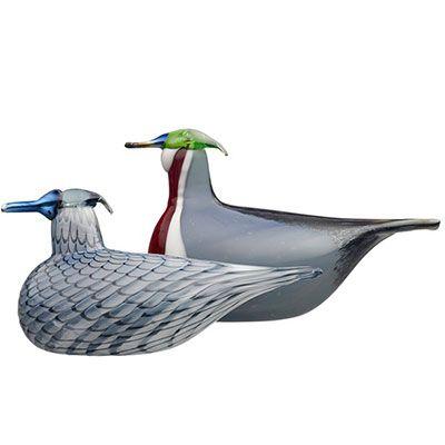 2013, Oiva Toikka, Wood Ducks, Museum of Glass, Tacoma