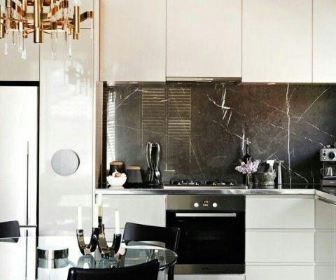 Дизайн интерьера кухни в стиле арт деко